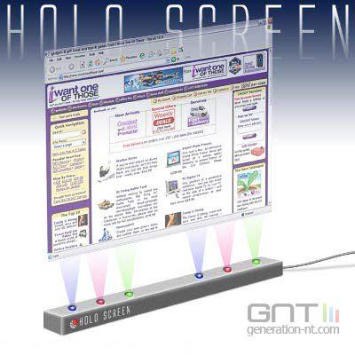 Holo screen