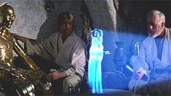 Hologramme Star Wars