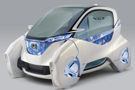 honda micro commuter la voiture lectrique sur mesure. Black Bedroom Furniture Sets. Home Design Ideas