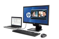 HP L2311c Notebook Docking Monitor - 1