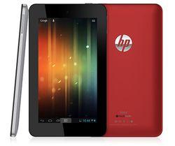 HP Slate 7 rouge