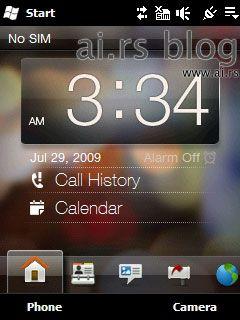 HTC Mega interface 01