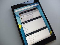 HTC Nexus 9 multitache