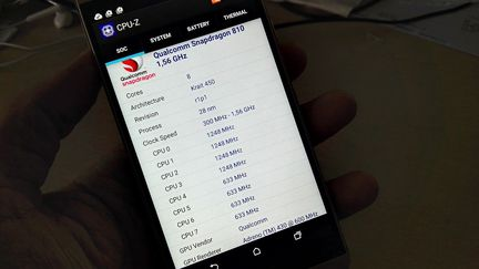 HTC One M9 CPUZ