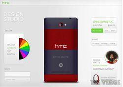 HTC personnalisation 8XT