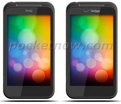 HTC smartphone sans touche