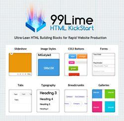 HTML KickStart screen