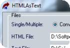 HTMLAsText : convertir une page HTML en un fichier texte