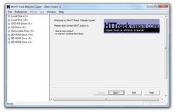 HTTrack WebSite Copier Portable screen1