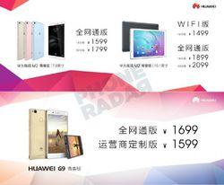 Huawei G9 Lite MediaPad M2
