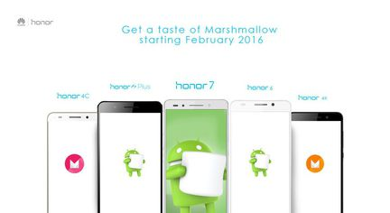 Huawei Honor Android Marshmallow