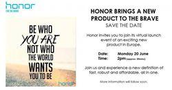 Huawei Honor tease