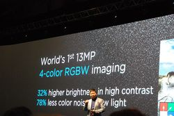 Huawei P8 photo RGBW