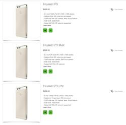 Huawei P9 prix