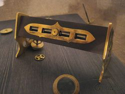 Hub USB Steampunk - 1