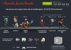 Humble Jumbo Bundle - offre
