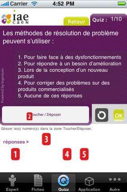 IAE Caen elearning iPhone 01