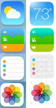 icones iOS 7