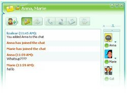 ICQ screen1