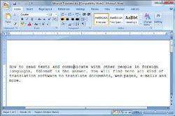 IdiomaX Office Translator screen2