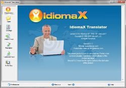 IdiomaX Translator screen1
