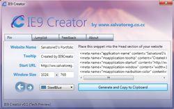 IE9 Creator