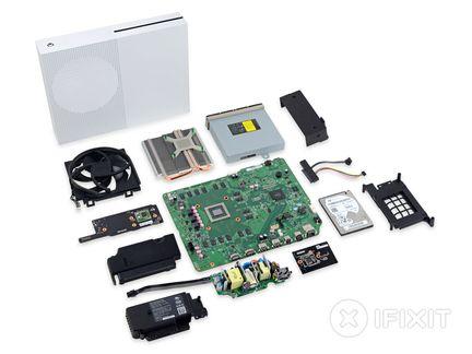 iFixit démontage Xbox one S