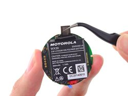 ifixit moto 360 batterie