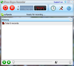 iFree Skype Recorder screen2