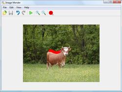 Image Mender screen 1