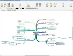 iMindMap screen 1