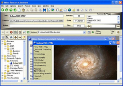iMiser Research Assistant screen1