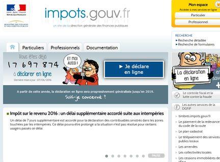 Impots en ligne