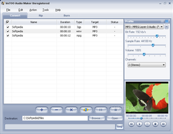 ImTOO Audio Maker screen1