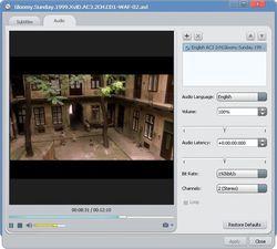 ImTOO AVI to DVD Converter screen 2