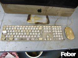Incendie Apple iMac 3
