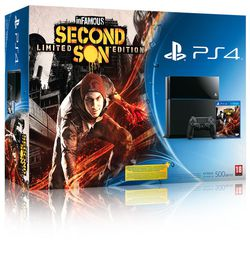 inFamous Second Son - bundle PS4