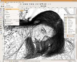 Inkscape screen 1