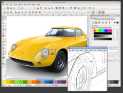 Inkscape screen 2