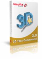 Insofta 3D Text : écrire un texte en trois dimensions simplement