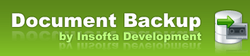 Insofta Document Backup logo