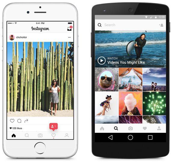 Instagram-interface-utilisateur