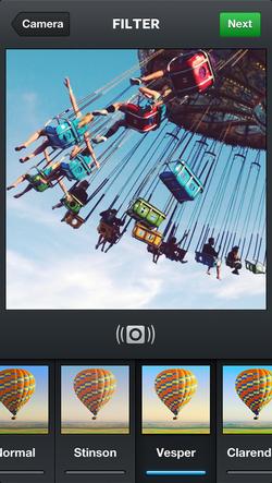 Instagram-video-filtres