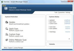 Instant Messenger Cleaner screen1