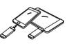 Clé USB One The Go chez Integral Memory : un connecteur pour l'ordinateur, un autre pour le smartphone