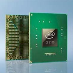 Intel CE 3100 logo pro