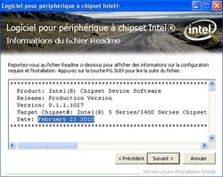 Intel Chipset_Device_Software screen