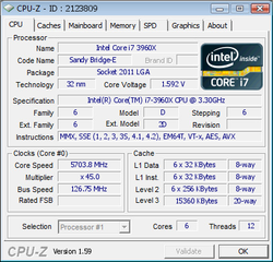 Intel Core i7-3960X record overclocking 1