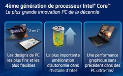 Intel Haswell présentation 1