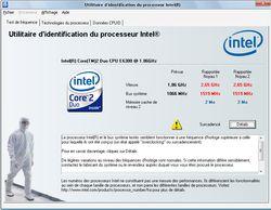 Intel Processor Identification Utility screen1